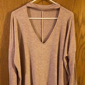 Sweaters - Shop Stevie choker sweater GUC size large